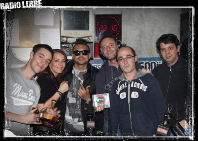 Sean Paul dans la Radio Libre