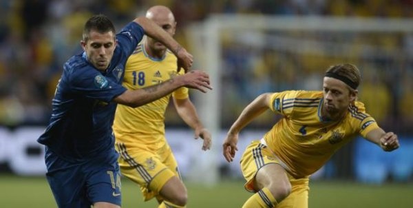 UKRAINE 0-2 FRANCE 