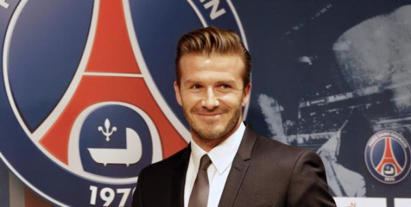 DAVID BECKHAM AU PSG 
