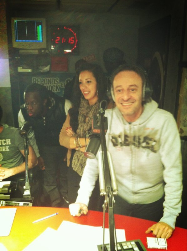 [ PHOTO ] Ayna et Youssoupha dans la RADIO LIBRE !
