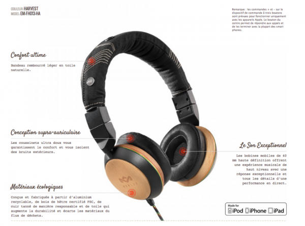 A gagner toute la semaine dans la Radio Libre : les casques Bob Marley 