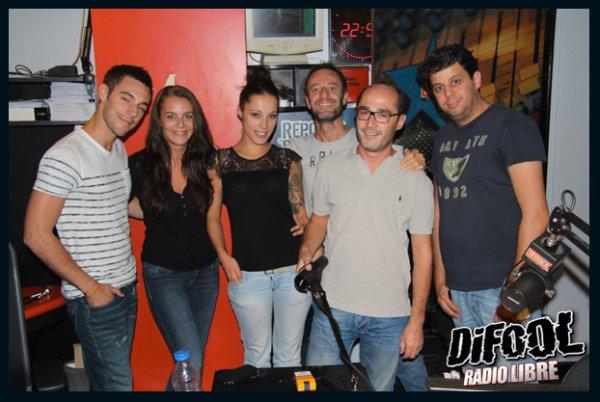 Nikita Bellucci dans la Radio Libre de Difool